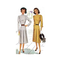 McCall/'s 4831 Misses/'//Miss Petite Unlined Jacket Tie Belt and Skirt Dress
