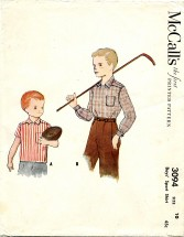 McCall's 3094 Sport Shirt Size 10