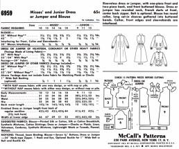 McCalls 6959