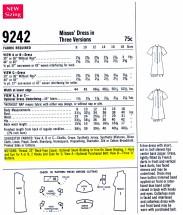 McCalls 9242