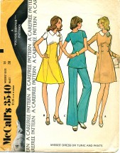 McCall's 3540 Dress Tunic Pants Size 16