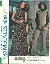 McCall's 4819 Dress Top Pants Scarf Size 10