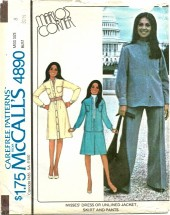McCall's 4890 MARLO'S CORNER Dress Jacket Skirt Pants Size 8