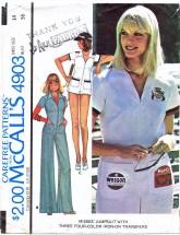 McCall's 4903 Misses Jumpsuit Size 14 - Bust 36