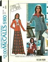 McCall's 5160 MARLO'S CORNER Jacket Skirt Pants Size 10