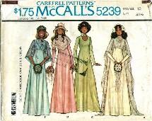 McCall's 5239 Bride & Bridesmaid Dress Size 10