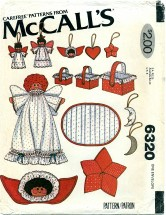McCall's 6320 Christmas Decorations Package