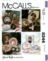 McCall's 8344 Craft Sewing Pattern Yours Truly Picture Frames