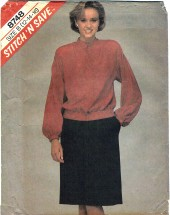 McCall's 8748 Misses Blouse & Skirt Size 12 - 16