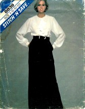 McCall's 8839 Misses Blouse & Skirt Size 8 - 12