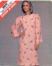 McCall's 8841 Pullover Dress Size 16 - 20 - Bust 38 - 42