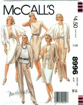 McCall's 8996 MARIETTE HARTLEY Jacket Top Skirt Pants Size 12