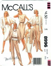 McCall's 8996 MARIETTE HARTLEY Jacket Top Skirt Pants Size 6