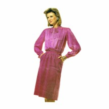 1980s Misses Blouse and Skirt McCalls 2615 Vintage Sewing Pattern Size 14 - 16 - 18 Bust 36 - 38 - 40