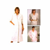 1980s McCalls 2917 Vintage Sewing Pattern Misses Coat Jacket Size 10 - 12 - 14 Bust 32 1/2 - 34 - 36
