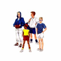 Boys Jacket Tops Pants Shorts McCalls 4324 Vintage Sewing Pattern Size 7