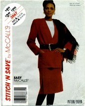 McCall's 3867 Jacket & Skirt Size 10 - 14