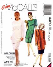McCall's 4469 Tunic Skirt Dress Size 8 - 12 - Bust 31 1/2 - 34