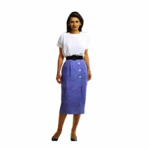 1990s Misses Blouse Wrap Skirt McCalls 4848 Vintage Sewing Pattern Size 12 - 14 - 16 Bust 34 - 36 - 38