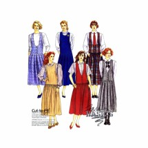 1990s Misses Jumpers McCalls 4967 Vintage Sewing Pattern Size 6 - 8 - 10