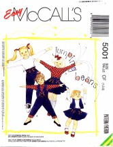 McCall's 5001 Vest Tops Skirt Pants Size 4 - 6