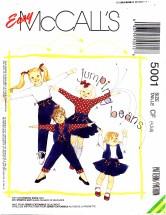 McCall's 5001 Vest Tops Skirt Pants Size 4 - 6