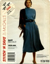 McCall's 5008 Pullover Dress Size 10 - 14