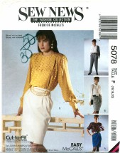 McCall's 5078 Misses Skirts & Pants Size 16 - 20