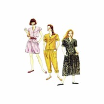 Misses Dropped Waist Jumpsuits Dress McCalls 0022 Sewing Pattern Size 16 - 18 - 20 Bust 38 - 40 - 42