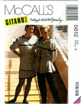 McCall's 5612 GITANO Jacket Skirt Pants Size 6