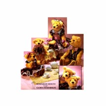 Rosenbear Bear Family Doll McCalls 6036 Vintage Sewing Pattern