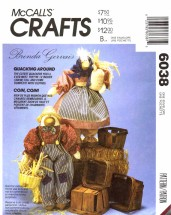 McCall's 6038 Crafts Sewing Pattern Duck Animals