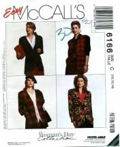 McCall's 6166 Misses Jacket & Vest Size 10 - 14