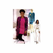 Misses Unlined Cardigan Tunic Top Skirt Pants Daphne Maxwell Reid McCalls 6292 Vintage Sewing Pattern Size 8 - 10 - 12