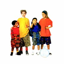Boys Girls Shorts Bag Hat McCalls 6510 Sewing Pattern Size 2 - 3 - 4