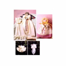 Angel and Dolls McCalls 6608 Sewing Pattern Three Sizes