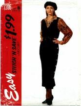 McCall's 7206 Jumper & Shirt Size 18 - 24