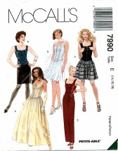 McCall's 7990 Misses Tops & Skirts Size 14 - 18
