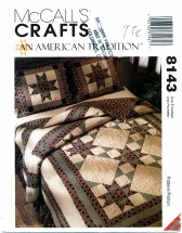 McCall's 8143 Crafts An American Tradition Quilt