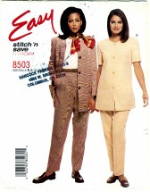McCall's 8503 Misses Jacket & Pants Size 8 - 14