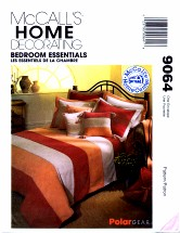 McCall's 9064 Bed Covers Throw Pillow Shams