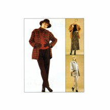 Misses Jacket Vest Pants Skirt McCalls 8957 Sewing Pattern Size 10 - 12 - 14
