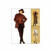 Misses Jacket Vest Pants Skirt McCalls 8957 Sewing Pattern Size 10 - 12 - 14