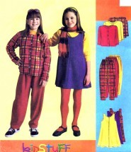 Girls Jacket Jumper Pants McCall's 8965 Sewing Pattern Size 12 - 14