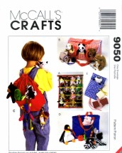 McCall's 9050 Bean Bag Babies Accessories