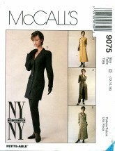 McCall's 9075 Misses Jacket Dress Pants Size 12 - 16