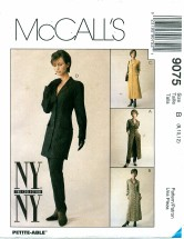 McCall's 9075 Misses Jacket Dress Pants Size 8 - 12
