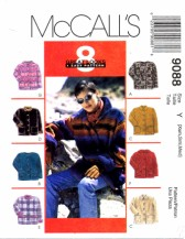 McCall's 9088 Unlined Hooded Jacket Size 6 - 14 - Bust 30 1/2 - 36
