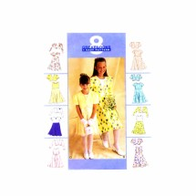 1990s Girls Bolero and Dress McCalls 9186 Sewing Pattern Size 10 - 12 - 14