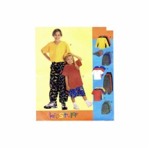 Boys Shirt T-Shirt Pants Shorts Baseball Hat McCalls 9206 Sewing Pattern Size 7 - 8 - 10